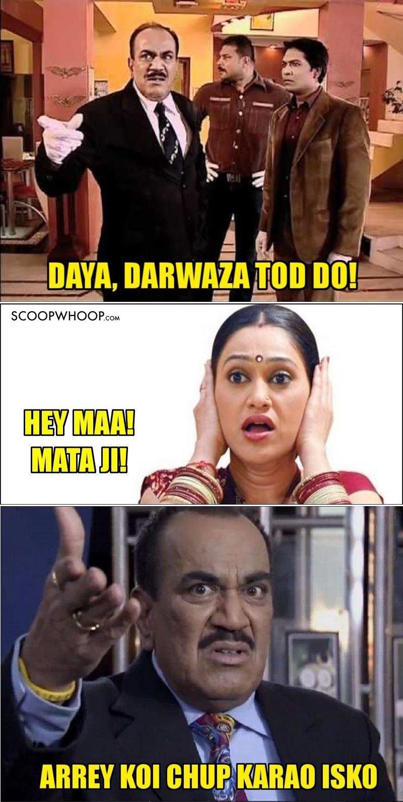 935424196 10 c i d memes that would even make daya laugh,Acp Pradyuman Meme