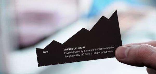 40 cleverly designed business cards that will definitely leave a a finance firms business card colourmoves