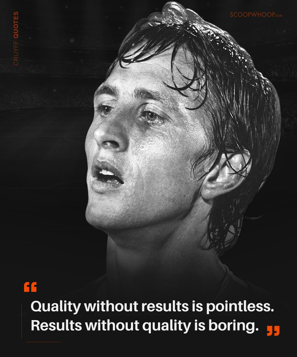 Citaten Johan Cruijff : 21 johan cruyff quotes that prove hes the brains behind the