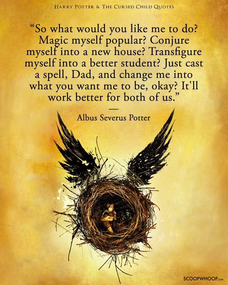 15 Heartbreaking Quotes From The Cursed Child Thatll Make Every