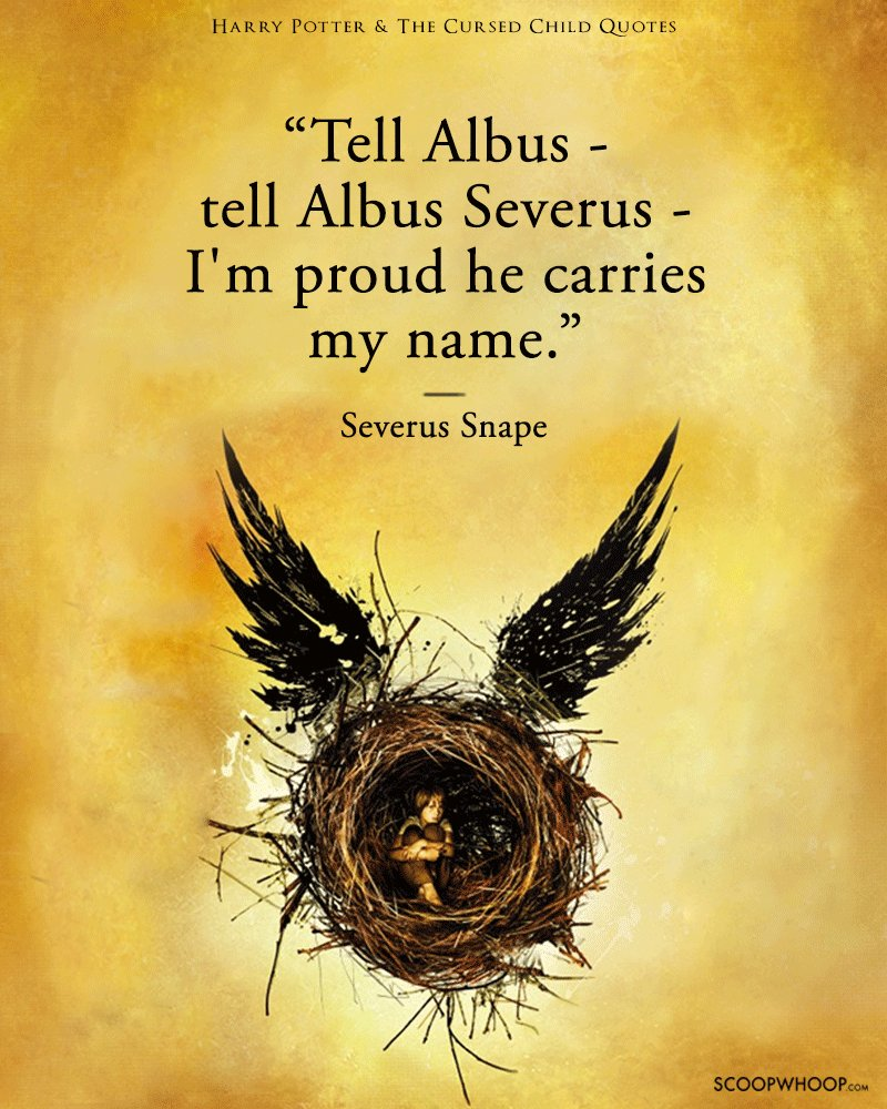 Harry Potter Friendship Wallpaper Quotes: 15 Heartbreaking Quotes From The Cursed Child That'll Make