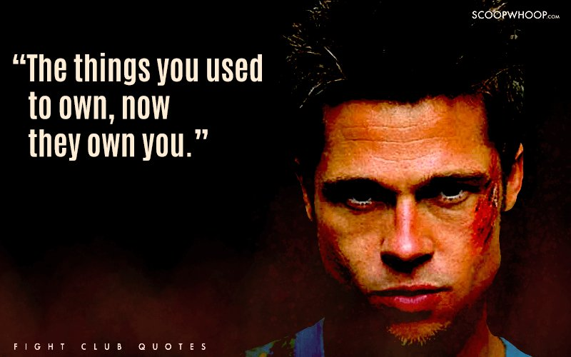 24 Badass Quotes From Fight Club That Teach You More About Life Than