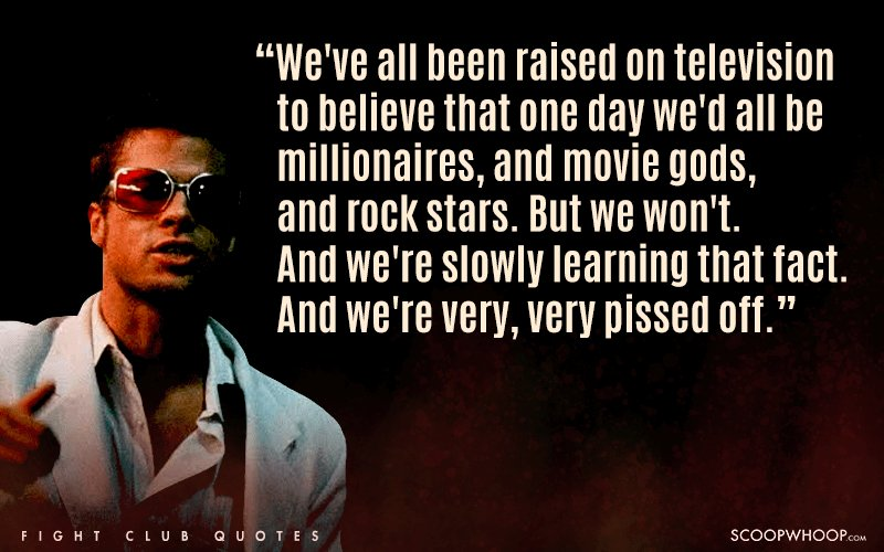 He Penned Down Knowledge That Still Works Even In  Lets Look At Some Of The Best Modern Day Gems From Fight Club