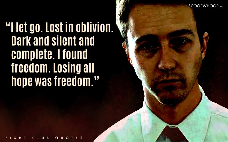 fight club consumerism Chuck palahniuk's fight club is an unprecedented novel which is particularly concerned with the problem of forging secure identities in the face of modern challenges: consumerism, capitalism, emasculating white-collar work, an absence of fathers.