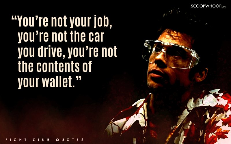 Fight Club Quotes Adorable 48 Badass Quotes From Fight Club That Teach You More About Life Than