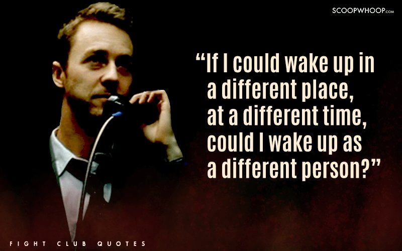 Fight Club Quotes Awesome 48 Badass Quotes From Fight Club That Teach You More About Life Than