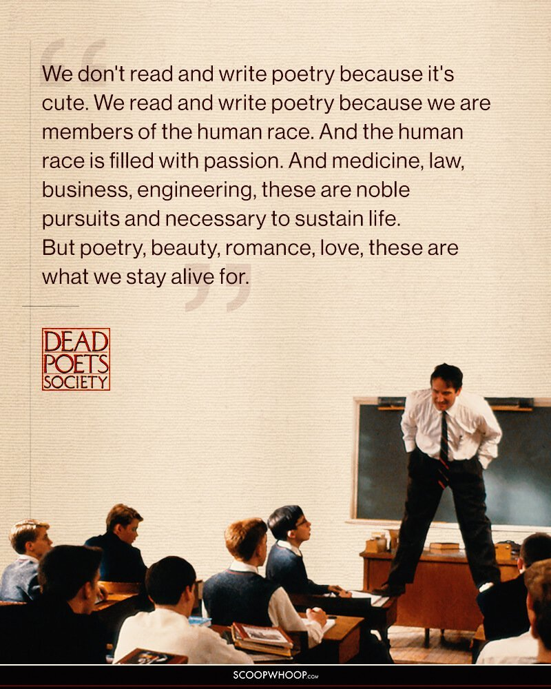 15 Inspiring Dead Poets Society Quotes That'll Remind You