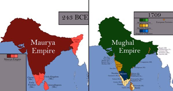 This Video Shows How Much The Map Of India Has Changed From 2800 Bce