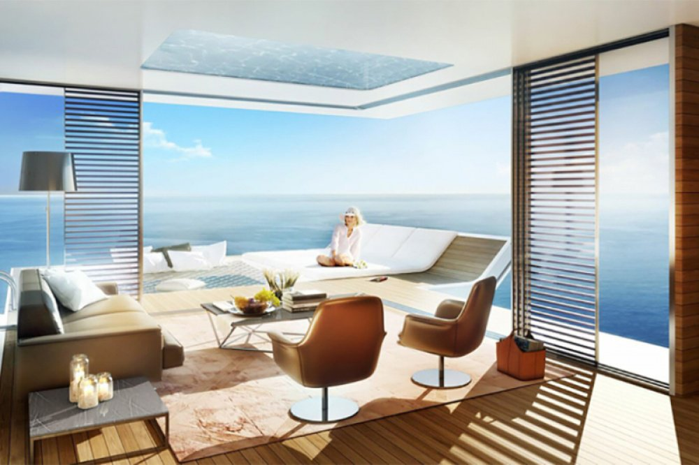 Dubais Floating Villas With Underwater Bedrooms Will Make You - These amazing floating villas have underwater bedrooms