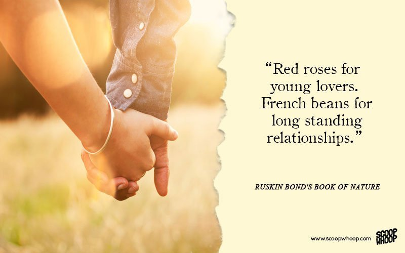 Bonding Quotes New 25 Moving Quotesruskin Bond That Will Make You Fall In Love