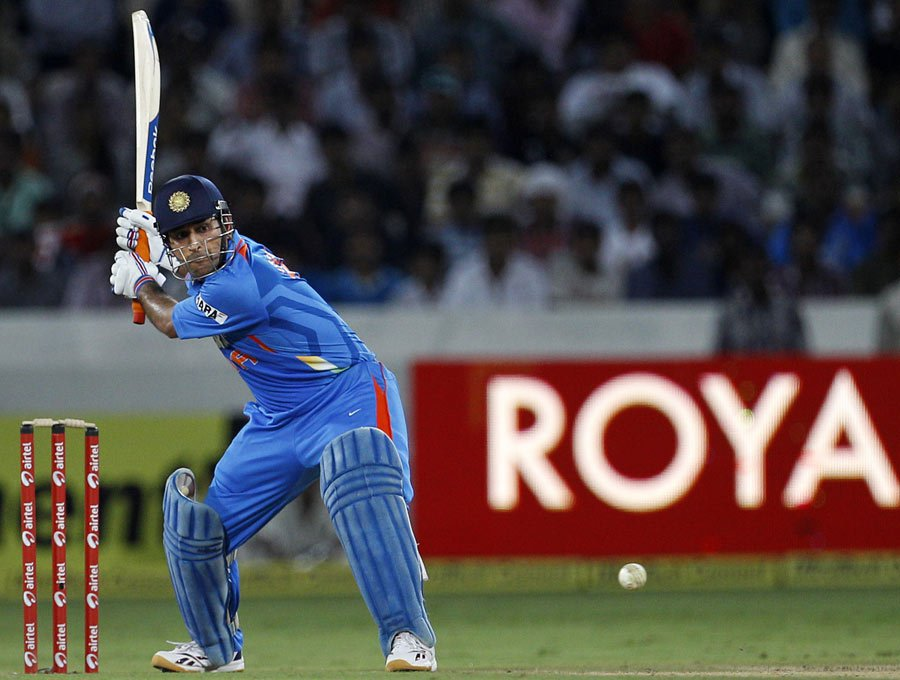 The Helicopter Shot Popularised By Dhoni