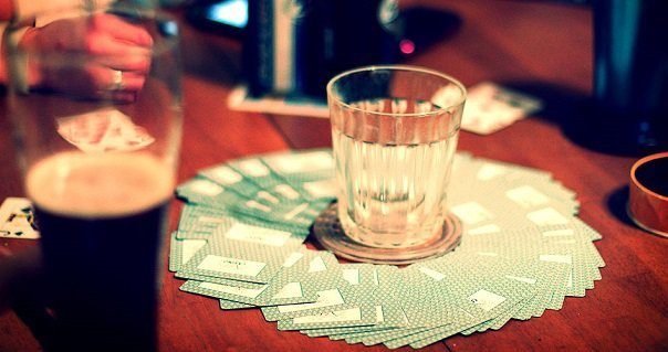 Simple fun drinking games