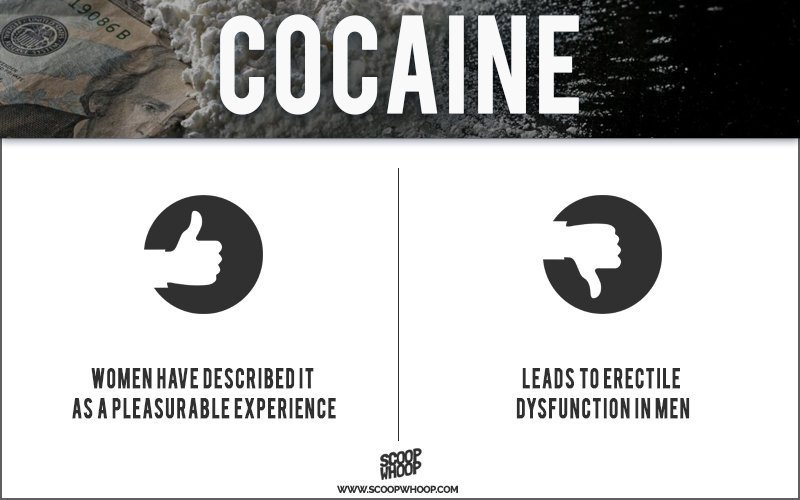 How cocaine improves sex