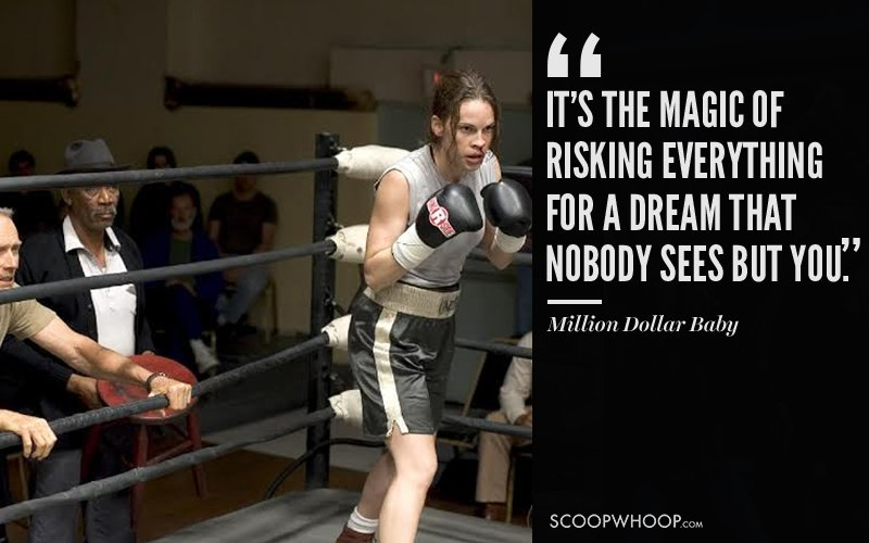 20 Inspiring Movie Quotes That Show How Romantic Sports Can Be