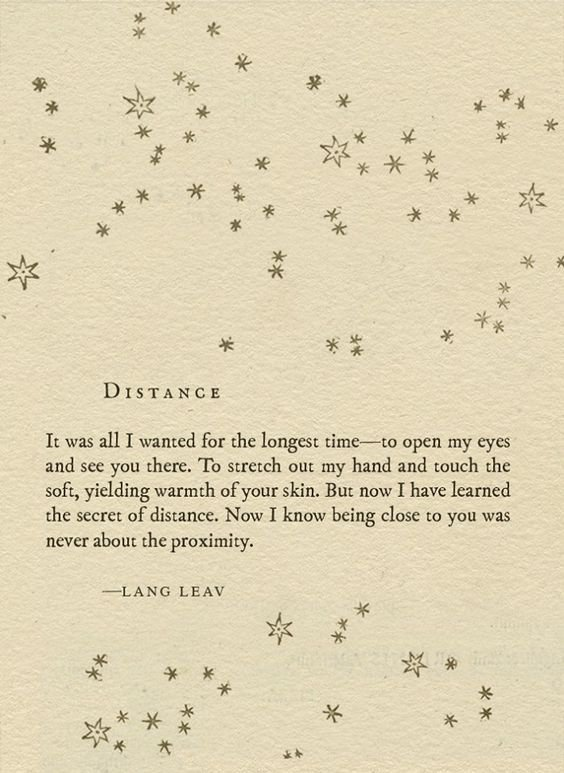 16 Poems That Will Help You Survive Your Long Distance Relationship
