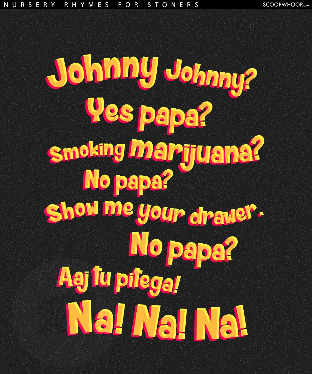 we adapted iconic nursery rhymes for stoners  u0026 the results