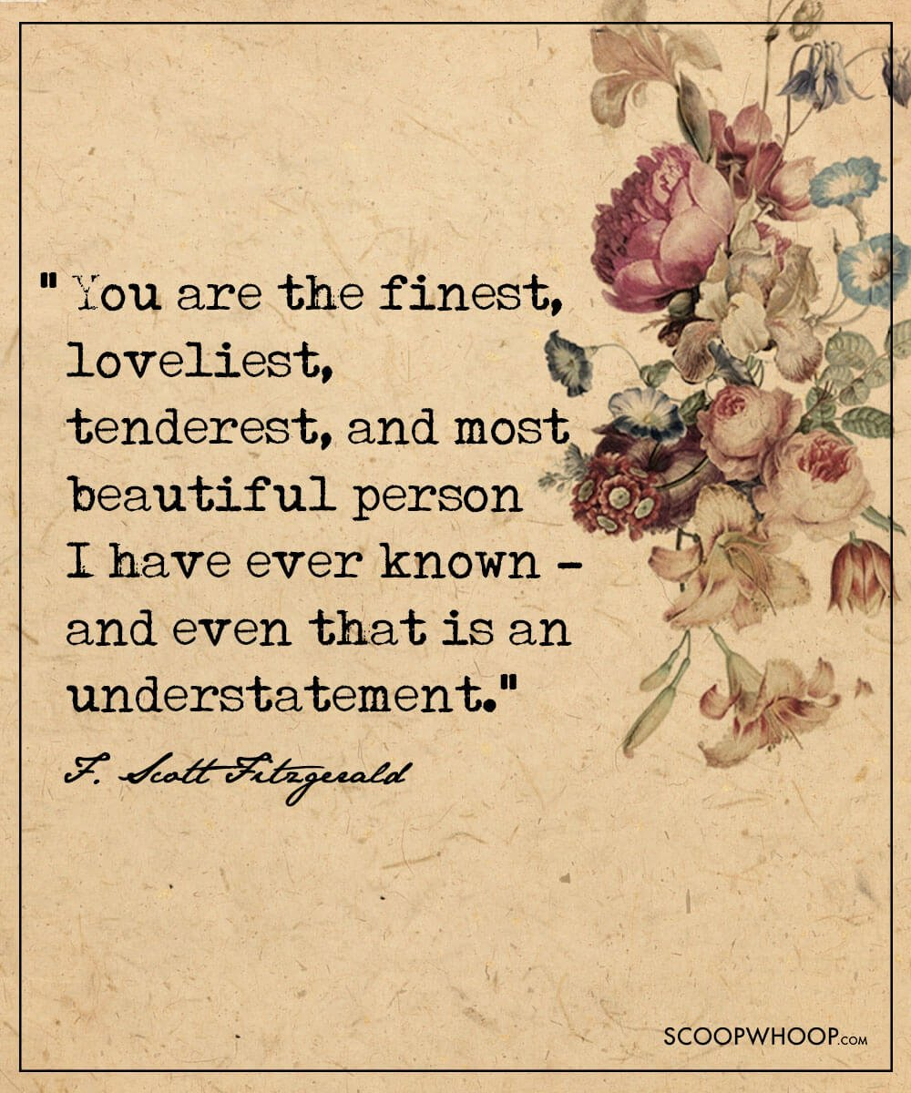 F Scott Fitzgerald Love Quote These Love Letters Of Scott & Zelda Fitzgerald Will Make You Fall