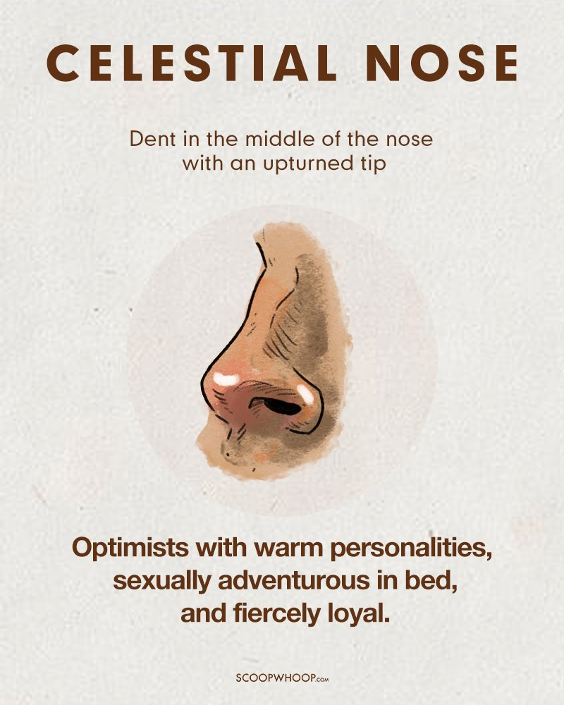 Apparently, This Is What Your Nose Says About Your Personality