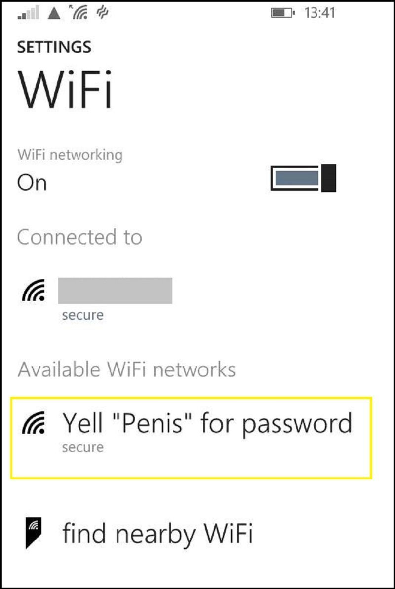 funny names for wifi