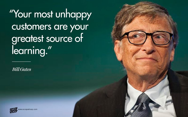 20 Great Quotes By The Richest Man In The World Bill