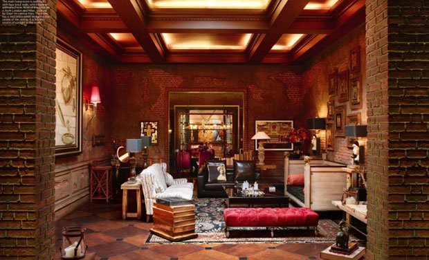 This Is What The Inside Of Srk S Home Mannat Looks Like