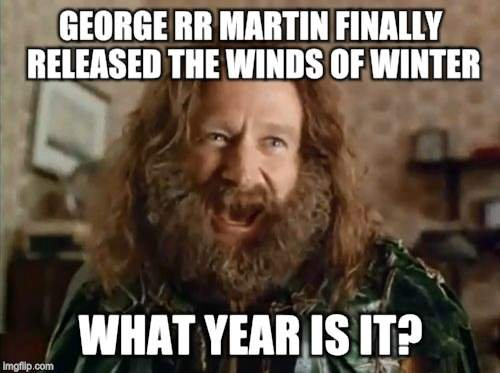 Wondering What George Rr Martin Is Up To This Facebook Page Tries
