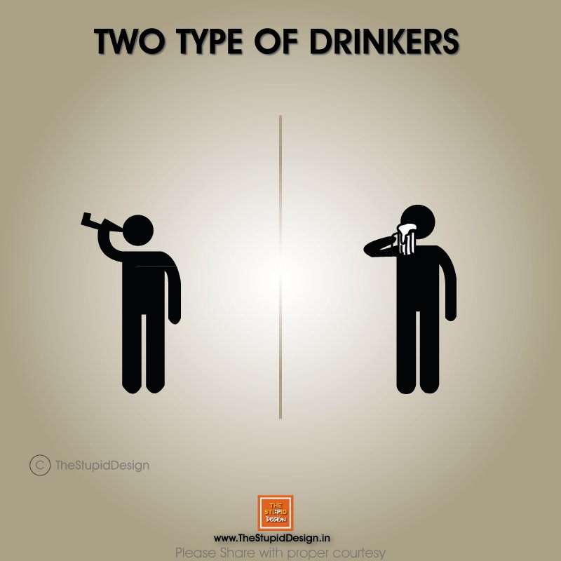 different types of drinkers