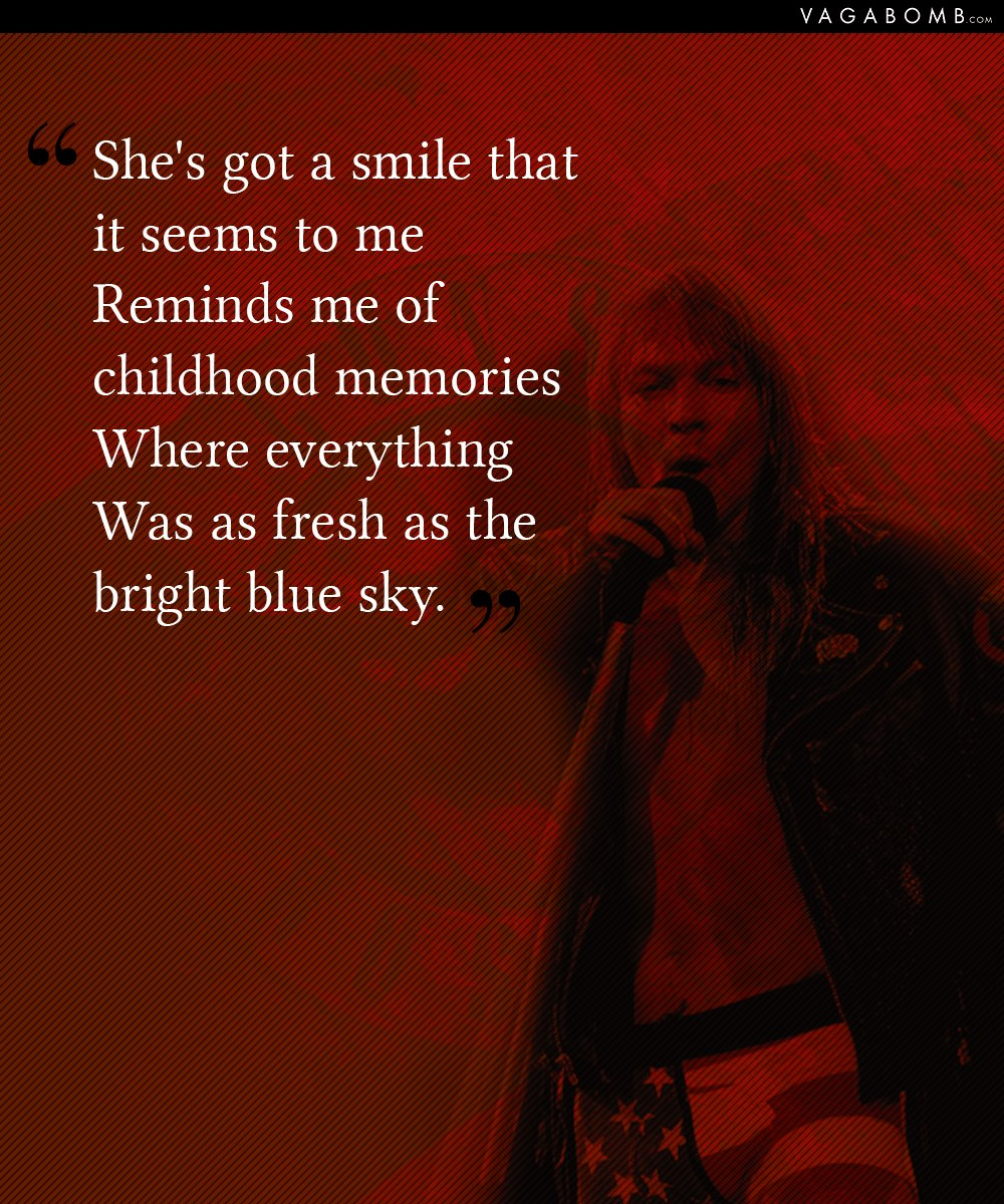 10 Lyrics from Guns N\' Roses Which Prove That Their Music Is Timeless