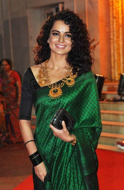 Permalink to Hairstyle For Short Curly Hair For Saree