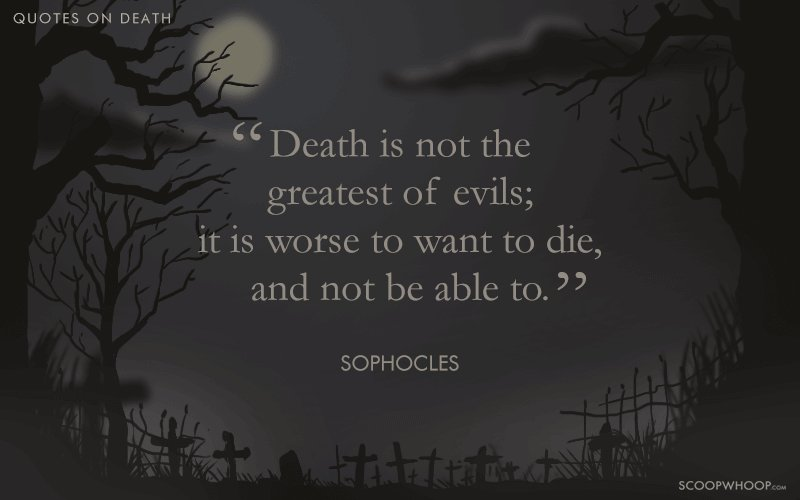 Deep Quotes About Death 20 Intriguing Quotes About Death That'll Take You On A Roller  Deep Quotes About Death
