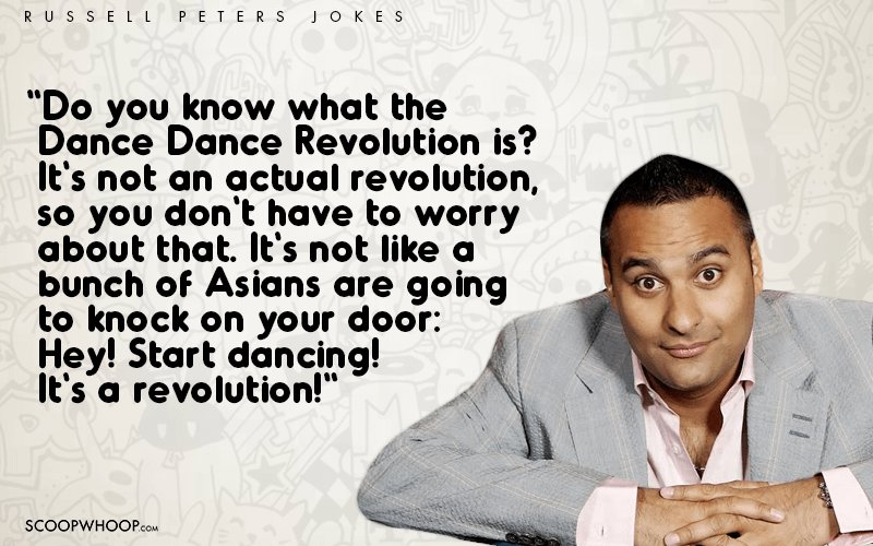 20 Funniest Lines From Russell Peters Jokes That Prove He's A One Of A Kind Comic