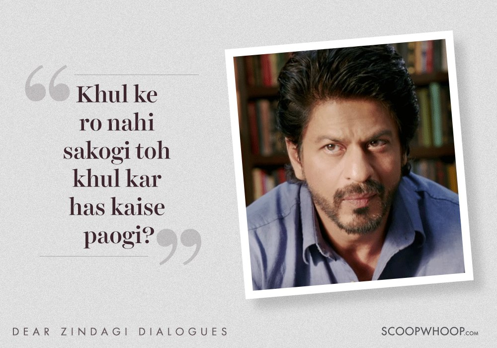 8 Heartwarming Lines From Dear Zindagi To Help You Love Yourself