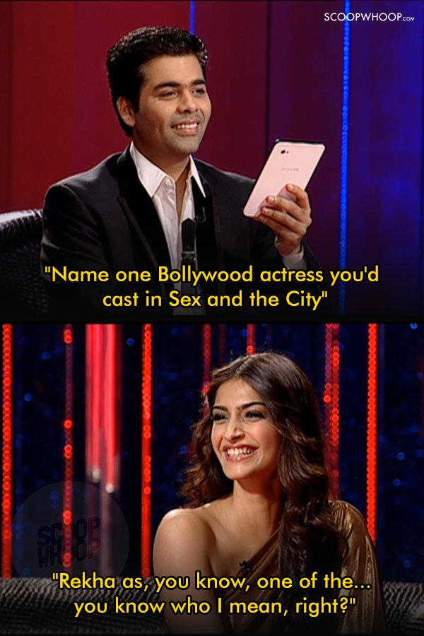 f36d95371be 26 Of The Meanest Things Ever Said By Celebrities On Koffee With Karan