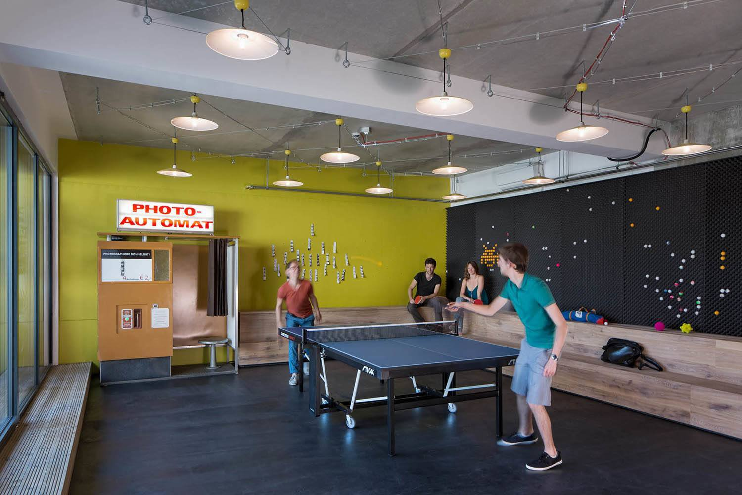 Google Office Game Room