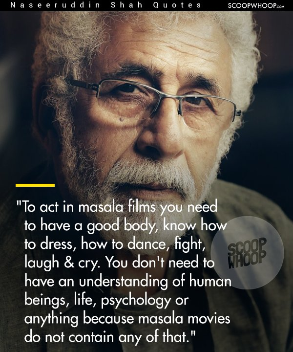 Short Sweet I Love You Quotes: 14 Quotes By Naseeruddin Shah That Subtly Capture His