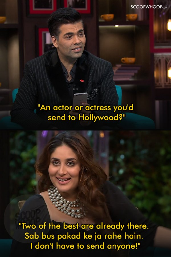3ac625f1030 When Kareena told us what she felt about Indian actors moving to Hollywood.