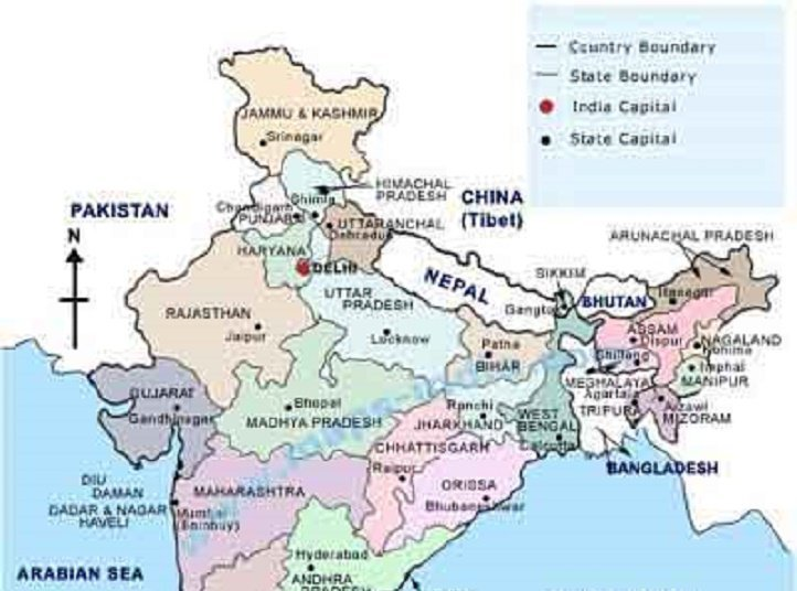 Kashmir Missing From India S Map Facebook Ceo Chinese Footage