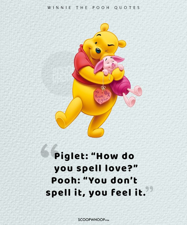 Pooh Love Quotes Impressive 25 Quotes That Prove Winnie The Pooh Was A Cartoon That Taught Us