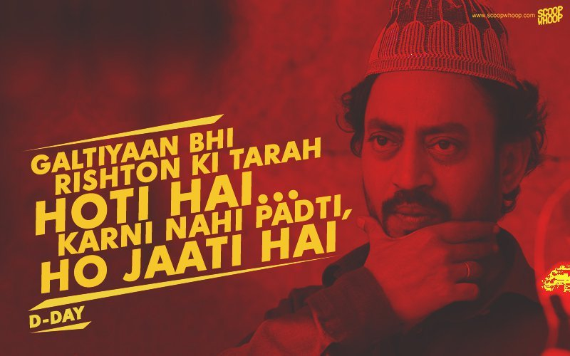 19 Bollywood Dialogues Only Irrfan Khan Could've Pulled Off