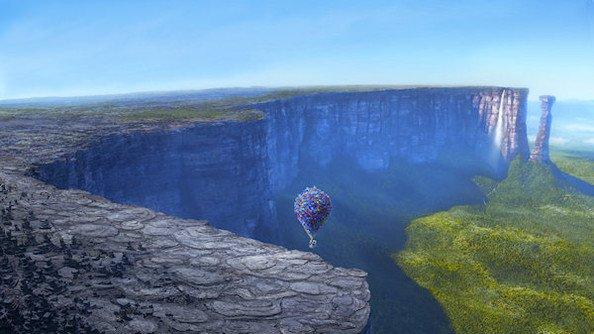 Resultado de imagen para paradise falls up