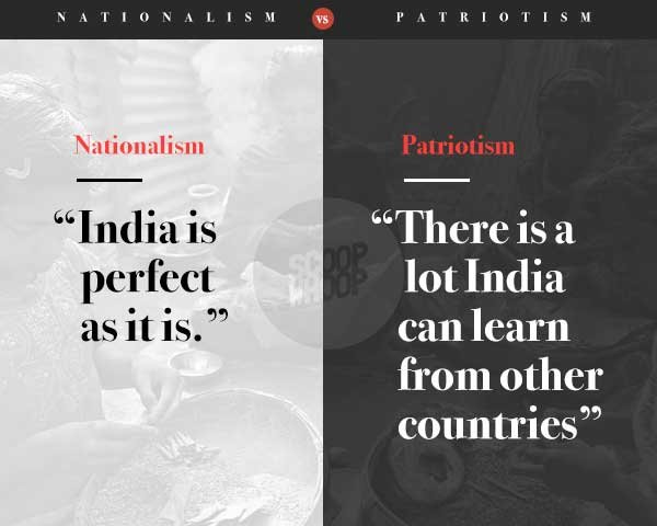 differences between nationalism and patriotism which is To understand nationalism let's 1st define nation a large body of people united by common descent, history, culture, or language, inhabiting a particular state or territory.