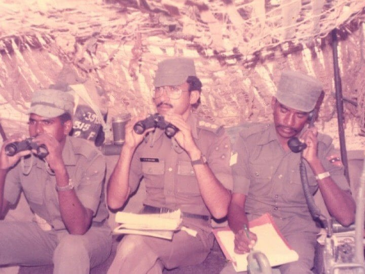 This Woman Telling The Story Of Her Father, A Kargil War