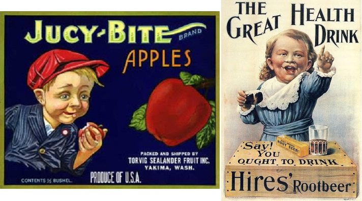 14 vintage ads with creepy children that will make you laugh out loud