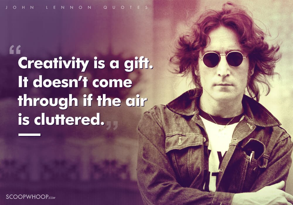 20 Life Changing Quotes About Love Life Peace By John Lennon The