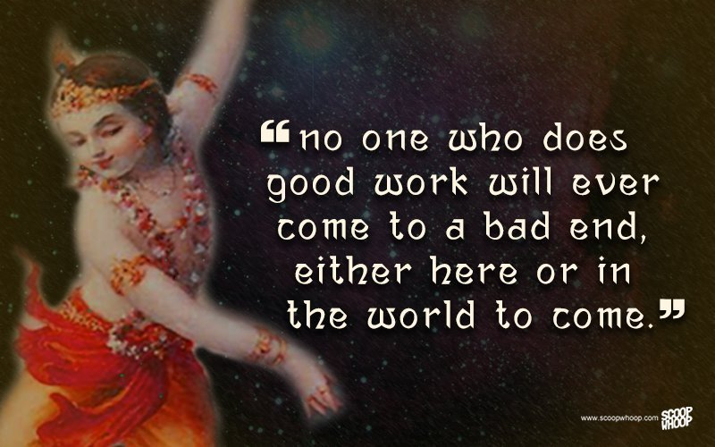 Lord Krishna Quotes Glamorous 25 Quoteskrishna That Are Relevant Even Today