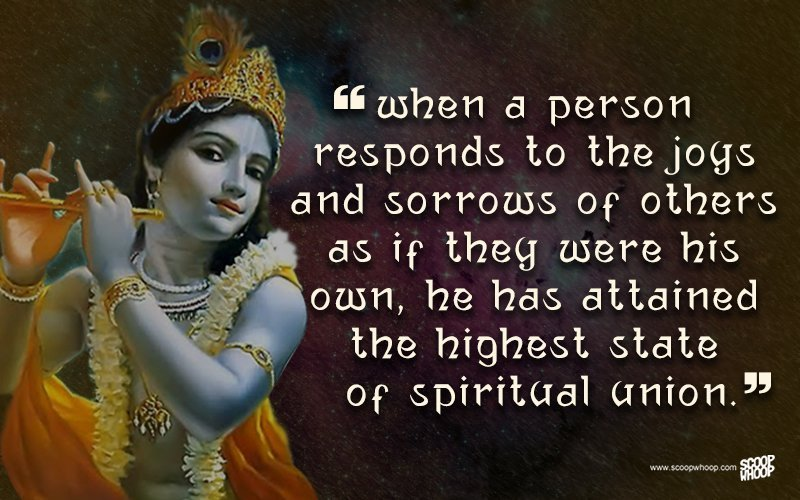 Lord Krishna Quotes Custom 25 Quoteskrishna That Are Relevant Even Today