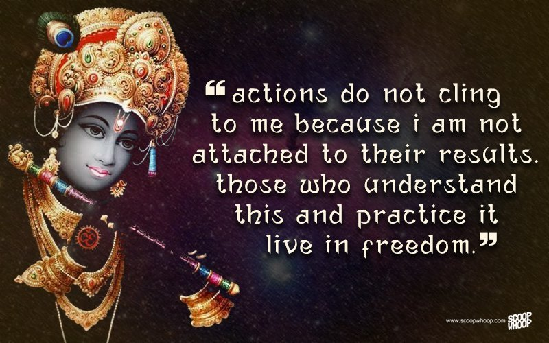 Lord Krishna Quotes Fair 25 Quoteskrishna That Are Relevant Even Today