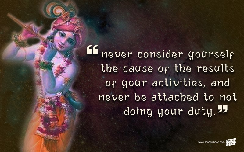 Lord Krishna Quotes Gorgeous 25 Quoteskrishna That Are Relevant Even Today