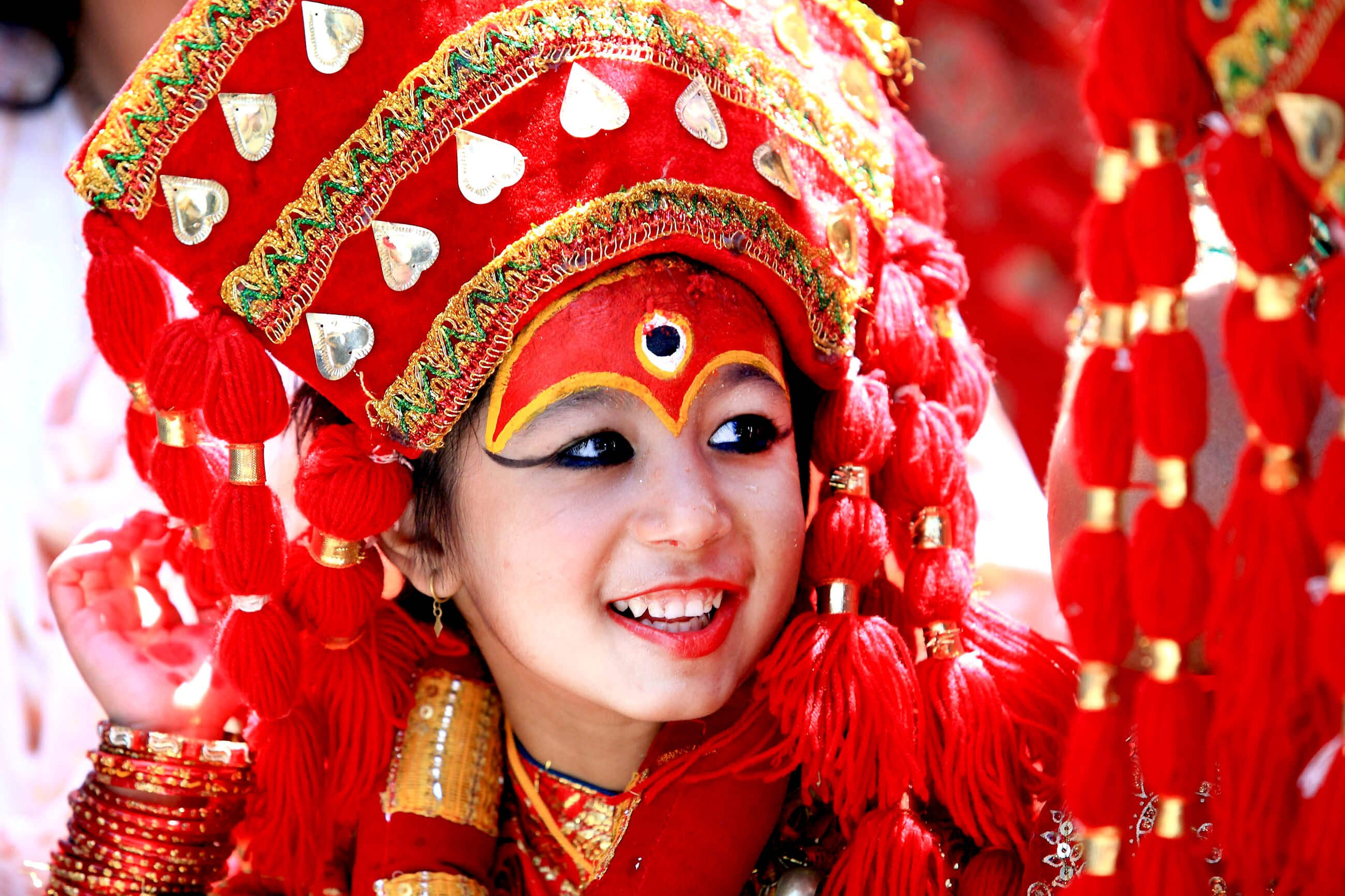 Image result for kumari ritual of nepal