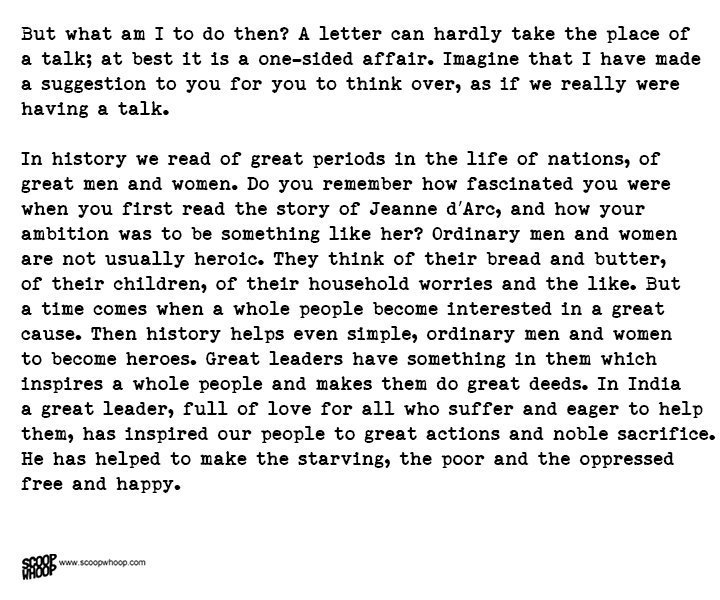 Nehrus letter to daughter indira from prison is the best advice a in 1973 indira gandhi wrote these letters aroused a feeling of concern for people and interest in the world around they taught one to treat nature as a altavistaventures
